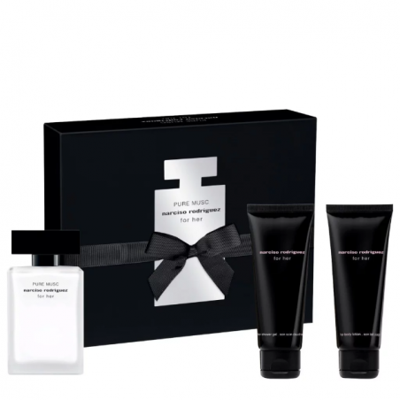 NARCISO RODRIGUEZ - Cofanetto For Her Pure Musc - eau de parfum 50ml + Shower Gel 75ml + Body Lotion 75ml