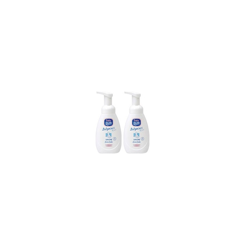 mousse detergente cambio pannolino extra dolce baby 250ml