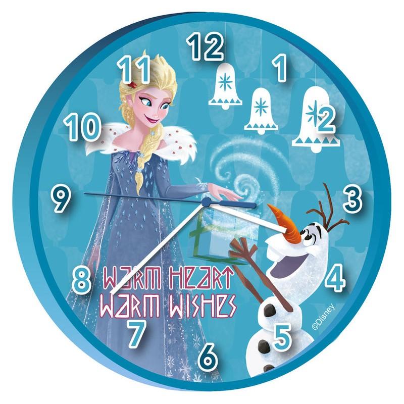 KIDS EUROSWAN - Orologio da parete Disney Frozen