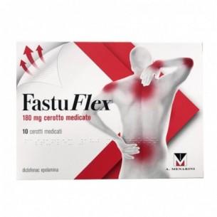 Fastuflex - 10 cerotti medicati da 180 mg