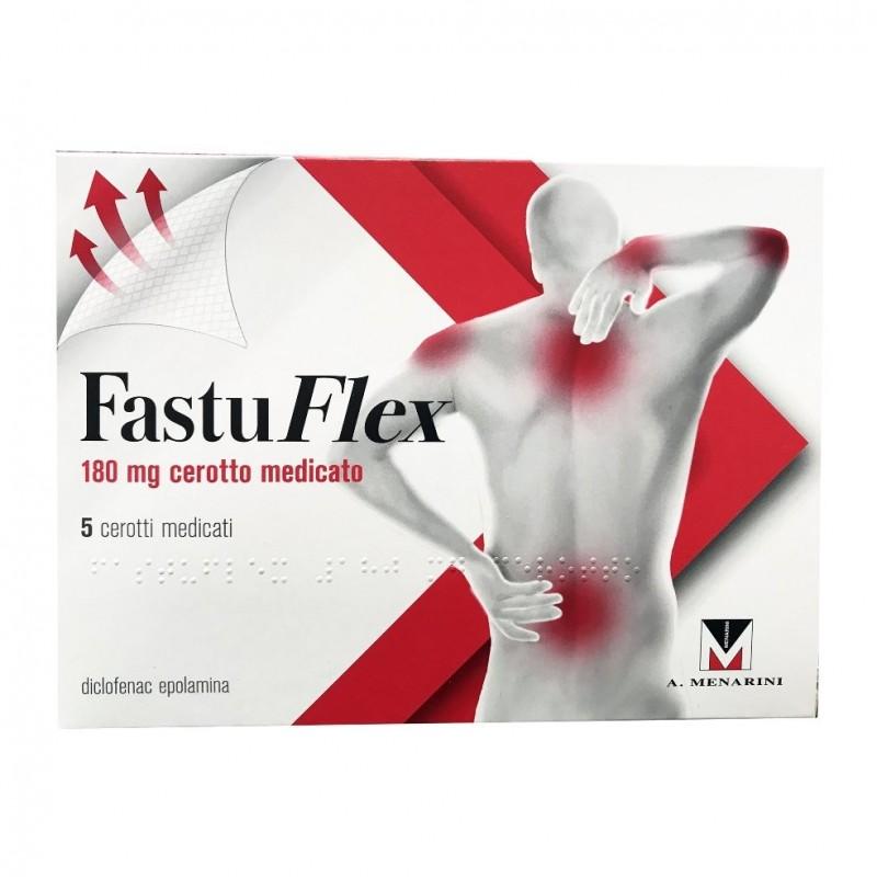 MENARINI - Fastuflex - 5 cerotti medicati da 180 mg