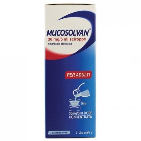 Sanofi - Mucosolvan 100 ml - Sciroppo per le affezioni broncopolmonari