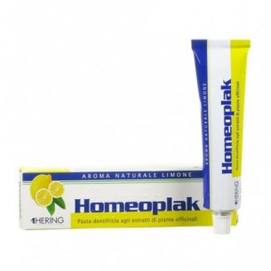 Homeoplak - Dentifricio con aroma di Limone 75 ml