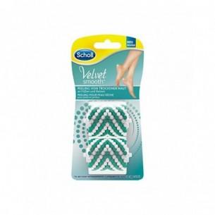 Velvet - 2 Refill per spazzola esfoliante
