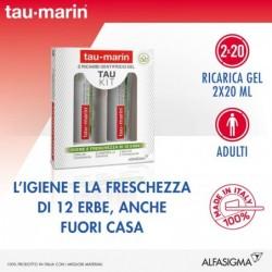 Tau Kit - 2 dentifrici in gel rinfrescanti da 20 ml