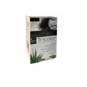 Tricolor - Tinta per capelli n.3 Castano Scuro