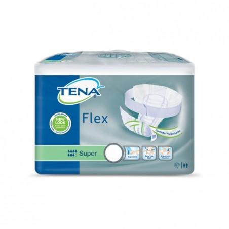 TENA - Flex Super - 30 pannoloni con cintura Misura Large