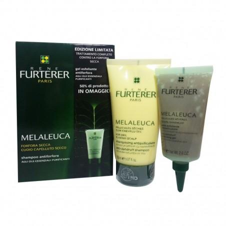 RENE FURTERER - melaleuca - cofanetto shampoo antiforfora secca + gel esfoliante