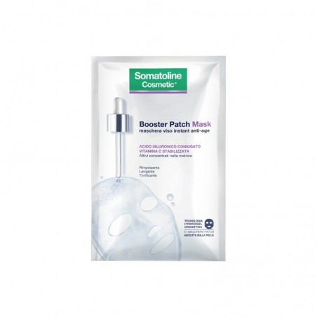 Somatoline - Cosmetic - Booster Patch Mask maschera viso antietà