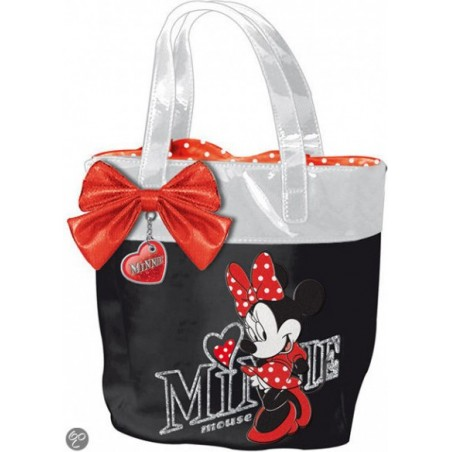 DISNEY - minnie - borsetta bambina shopping colore nero