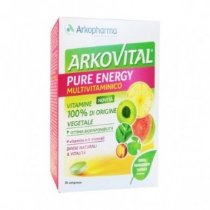 Arkovital Pure Energie 30 compresse - integratore multivitaminico