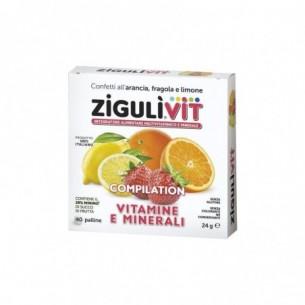 Vit Compilation 40 Confetti - Integratore alimentare a A Base Di Vitamine E Minerali