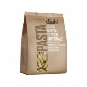 Dialsi - pasta di riso integrale senza glutine 400 G - penne rigate