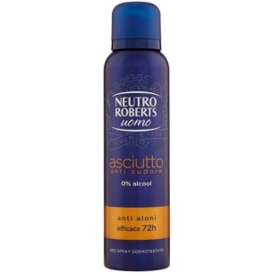 Men Dry Deodorante Spray Asciutto 150 Ml