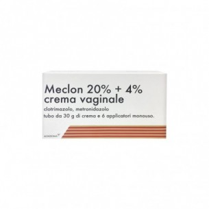 Meclon 20% + 4% - crema vaginale 30 g + 6 applicatori