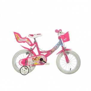 Disney Principesse - Bicicletta da bambina 14 Pollici