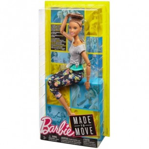 Barbie Made to Move - Bambola Con 22 Punti Snodabili