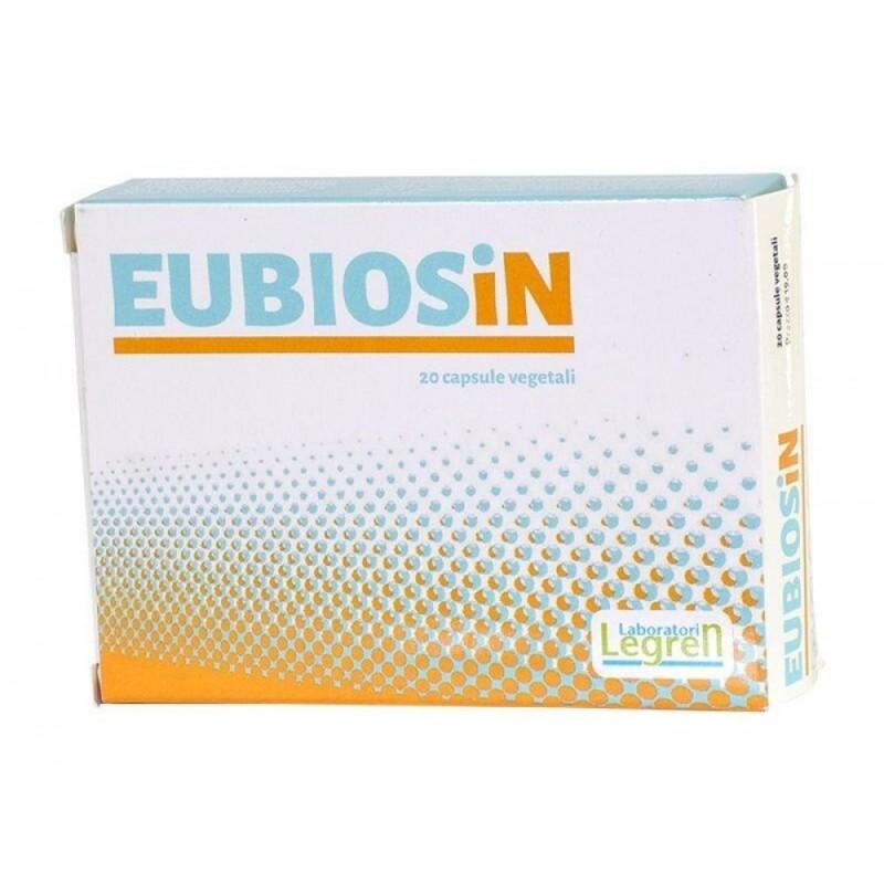 LABORATORI LEGREN - Eubiosin 20 capsule - integratore di probiotici