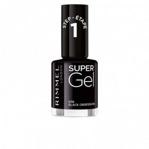 Super Gel - Smalto per unghie n. 070 Black Obsession