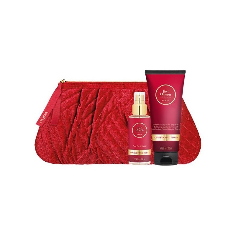 Pupa - Kit Red Queen 2 - Cofanetto regalo n.003 Sophisticated fruity