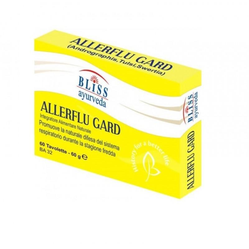 BLISS AYURVEDA - Allerflu Gard 60 tavolette - Integratore per le naturali difese del sistema respiratorio