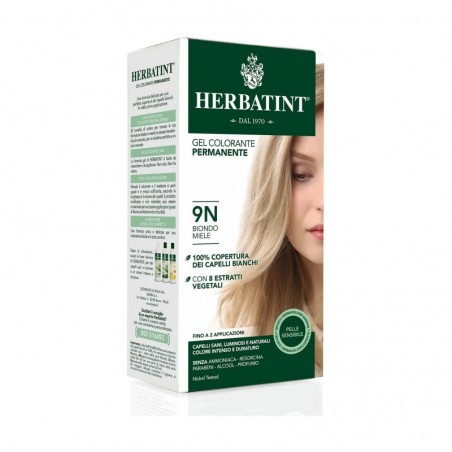 HERBATINT - gel colorante permanente n. 9N Biondo Miele 300 ml