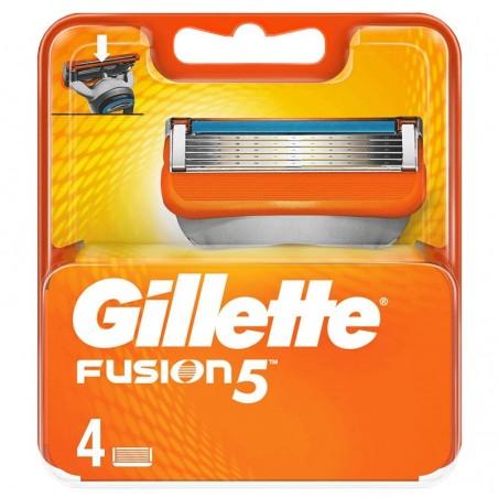 GILLETTE - Fusion 5 - 4 testine di ricambio per rasoio