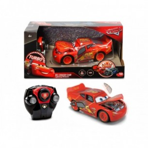 Disney Cars - Macchina radiocomandata Crash Car Saetta Mcqueen