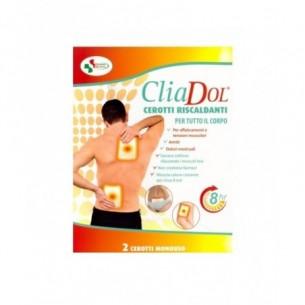 Cliadol - 2 cerotti autoriscaldanti per dolori alla schiena