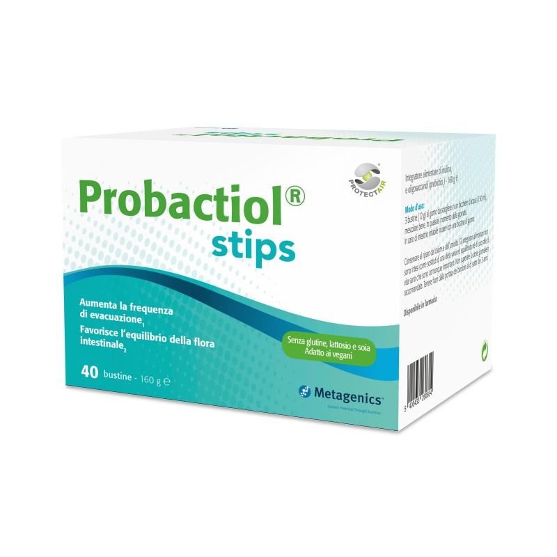 METAGENICS - Probactiol Stips 40 Bustine - Integratore per il benessere intestinale