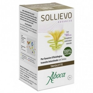 Sollievo Advanced 45 Tavolette - integratore per il transito intestinale