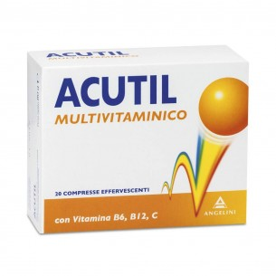 Acutil Multivitaminico 20 Compresse - Integratore Alimentare