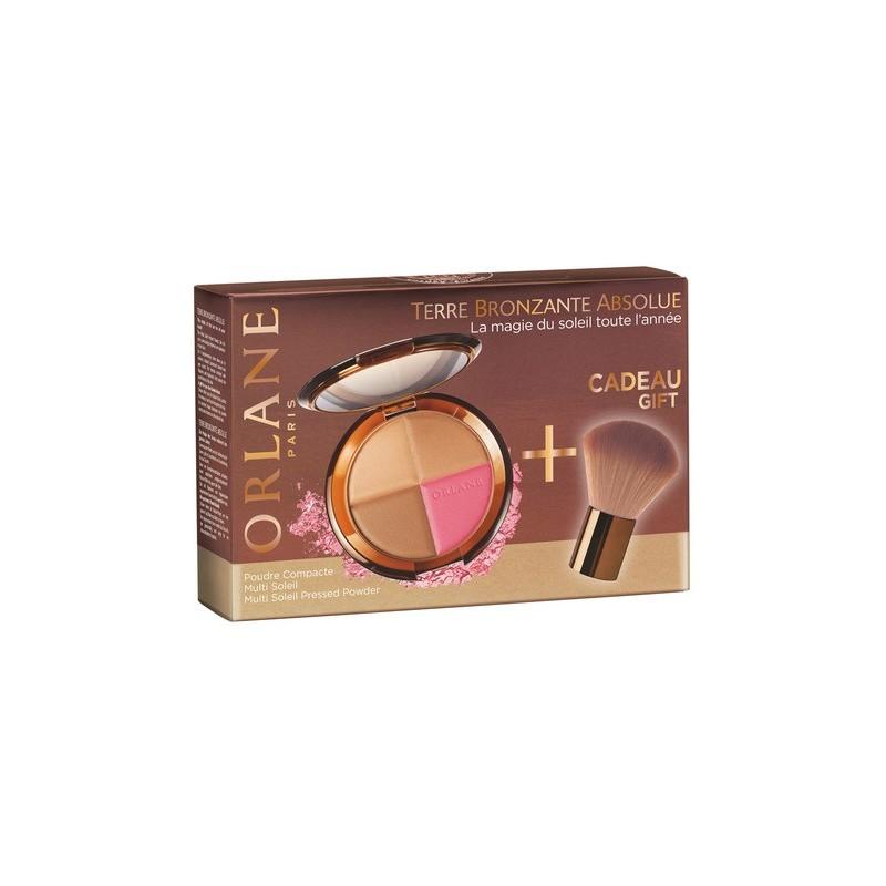 ORLANE - Cofanetto terre bronzante absolu - poudre multi soleil + pennello kabuki