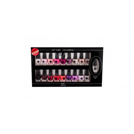 2K - Let's Get colourful Nails collection - Collezione da 19 smalti