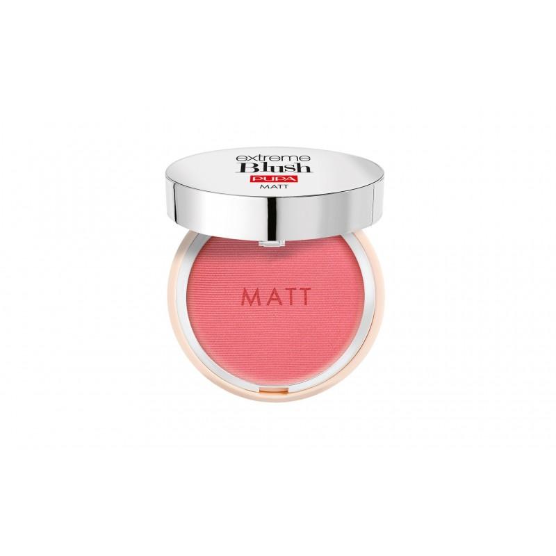 Pupa - Extreme Blush Matt - Blush Compatto Effetto Naturale n.004 Daring Pink