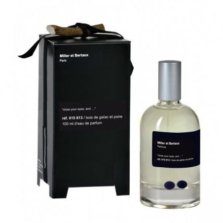 MILLER ET BERTAUX - Bois de gaiac et poire - eau de parfum unisex 100 ml vapo