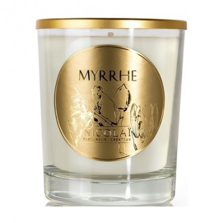 NICOLAI - Myrrhe - candela profumata