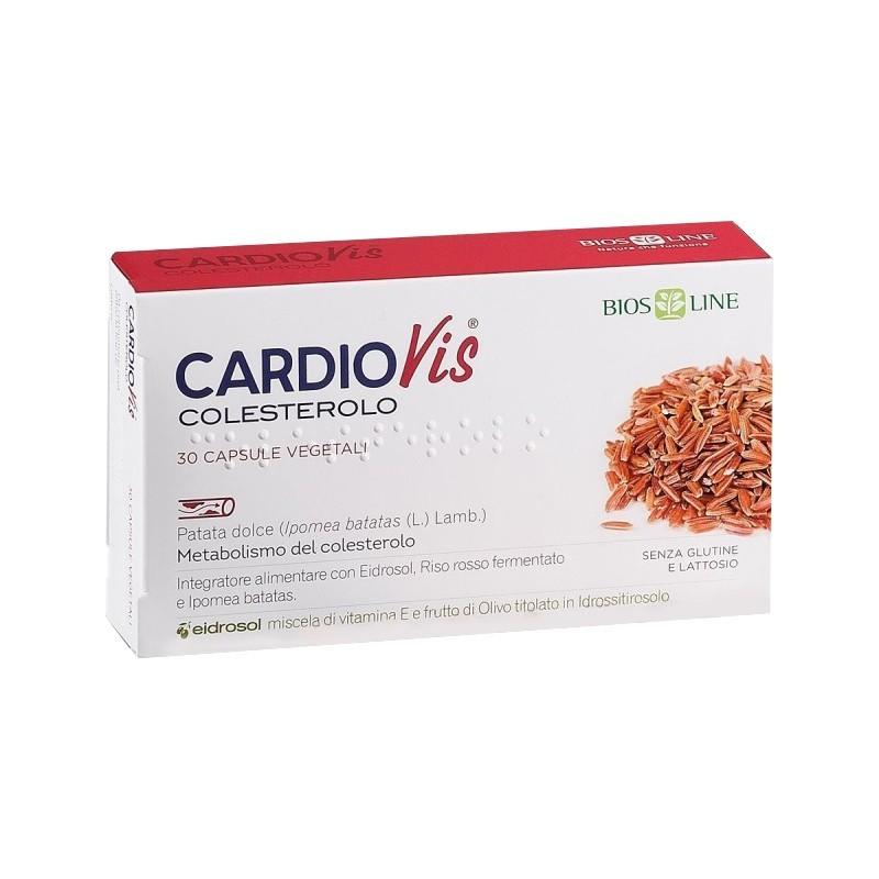 BIOS LINE - Cardiovis Colesterolo 30 compresse - integratore per il controllo del colesterolo