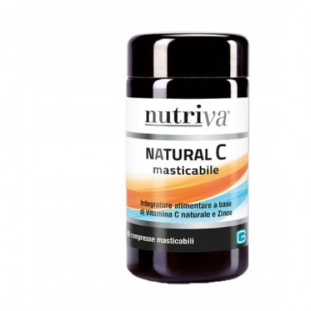NUTRIVA - Natural C 60 compresse - integratore di vitamina C