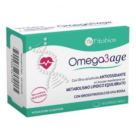 Fitobios - Omega3 Age 45 capsule - integratore per il benessere cardiovascolare