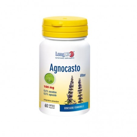 LONGLIFE - Agnocasto 60 capsule Veg - integratore per il benessere femminile
