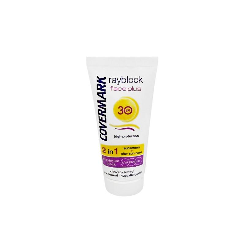 Covermark - Rayblock Face Plus oily acneic SPF30 - Protezione solare 50 ml Soft Brown