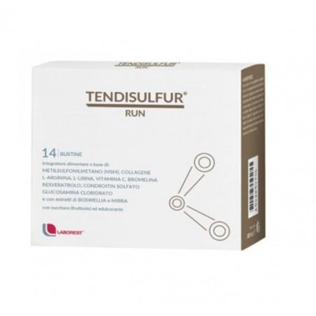 LABOREST - Tendisulfur Run 14 Bustine - Integratore per il sistema muscolo scheletrico