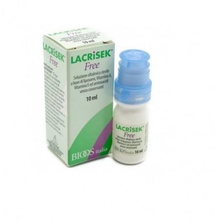 SOOFT ITALIA - Lacrisek free soluzione oftalmica - collirio 10 ml