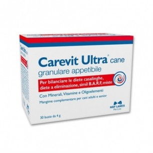 Carevit Ultra Cane 30 Bustine - Mangime complementare per cani
