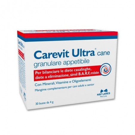N.B.F. LANES - Carevit Ultra Cane 30 Bustine - Mangime complementare per cani