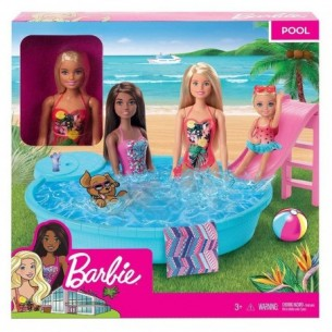Barbie con Piscina - Playset