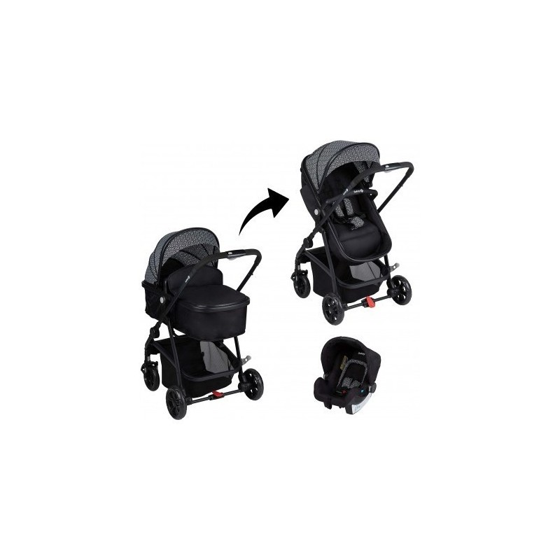 SAFETY 1ST - Hello - Trio Trasformabile 3In1 - Geometric