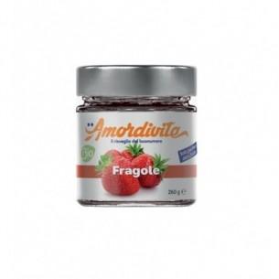 Fragole - composta di frutta bio 260 g
