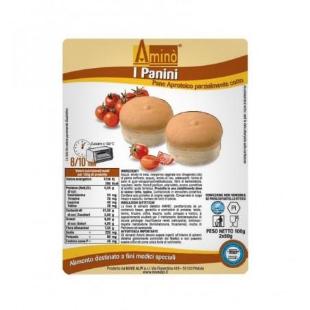 AMINO - I Panini - Pane aproteico parzialmente cotto 100 g